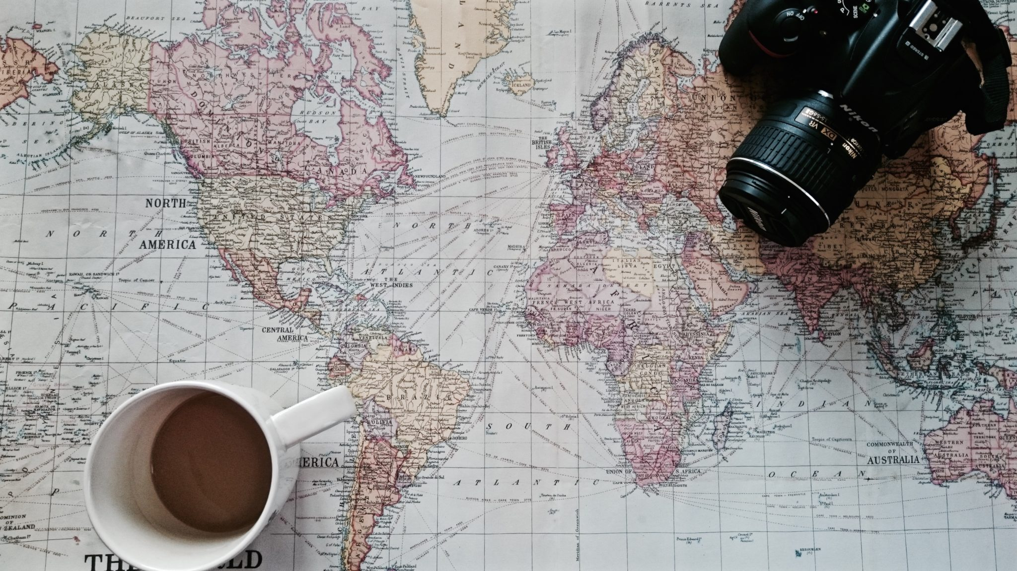 Travel Planning For 2016 – Travel Planning Map